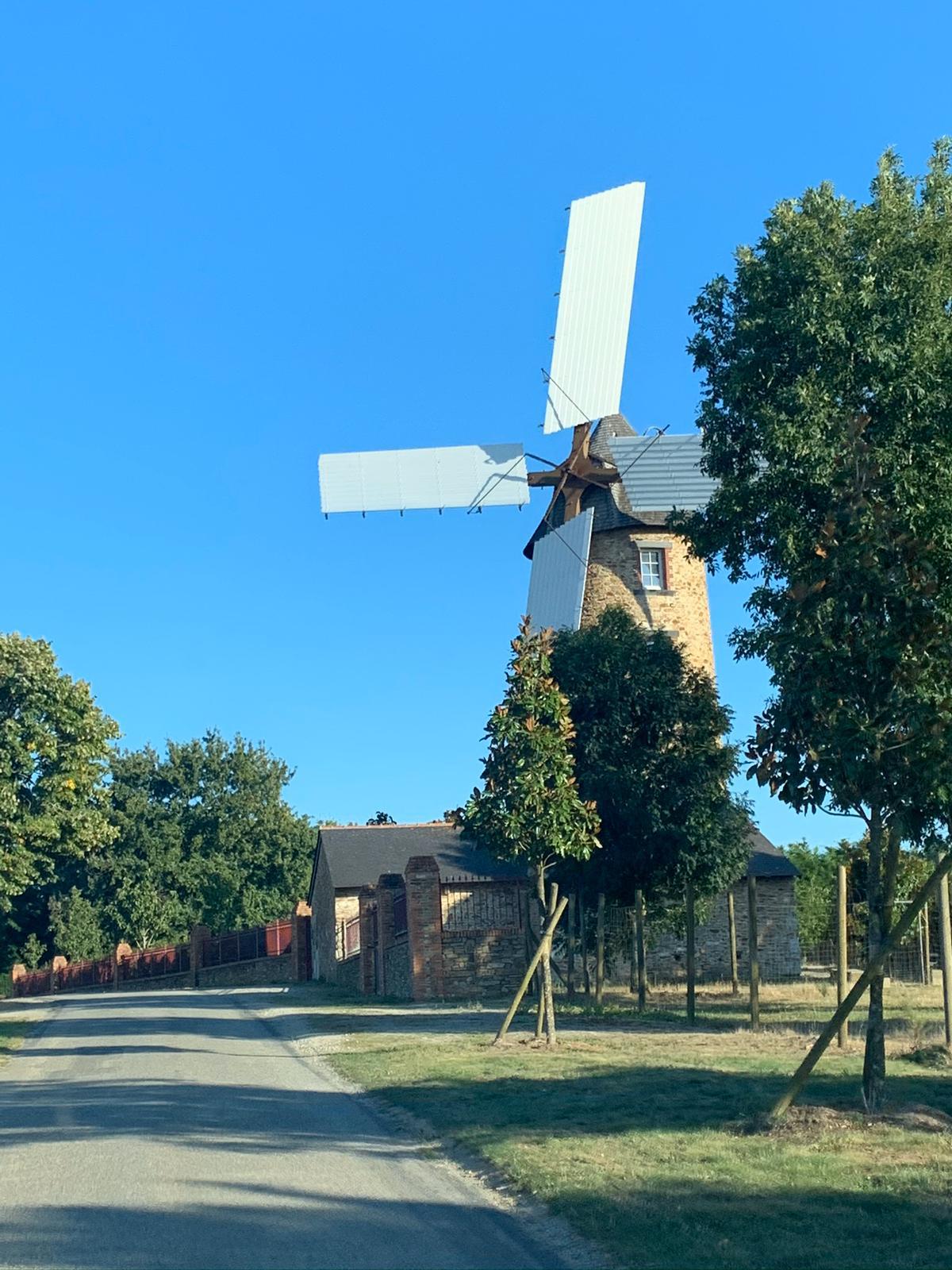 Le moulin des Pépinières du Val d'Erdre