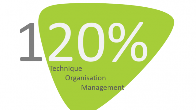 120% Technique Organisation et Management