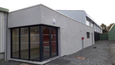 construction salle convivialité complexe sportif d'Héric